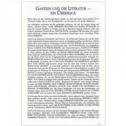 Gastein und die Literatur - Broschüre