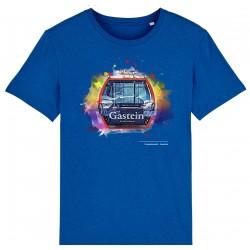 Schlossalmbahn Gastein T-Shirt Blau meliert