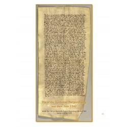 Die erste Gasteiner Bergordnung aus dem Jahr 1342 - Auszug aus dem Buch