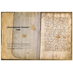 """Die ersten Seiten der 66 Seiten umfassenden """"Gasteinerischen Chronica"""" von 1540. © Salzburg Museum Auszug aus dem Buch!"""