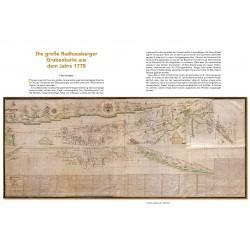 """Die große Radhausberger Grubenkarte aus dem Jahre 1778 - Auszug aus dem Buch """"Reise in goldene Zeiten"""""""